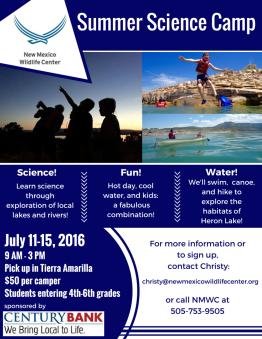 2016 Chama Summer Camp